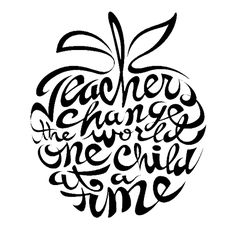 Teachers Change The World Skull Die Cut Vinyl Decal PV739