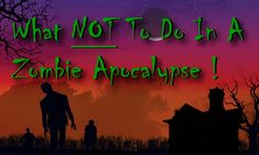 Check out this list of zombie apocalypse survival tips!