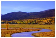 Beautiful Fly Fishing Landscape Picture Taken From Flydreamers.com. #Flyfishing