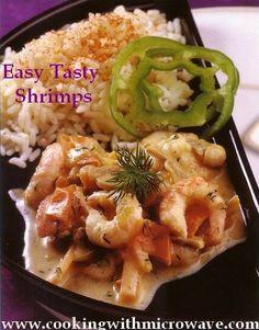 Easy Tasty Shrimps recipe (microwave).