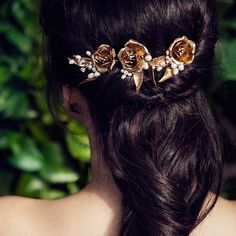 MATHILDA HAIRPINS - OLIVIA HEADPIECES - 1