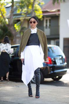 Diego Zuko snaps the chicest looks from Australian Fashion Week.