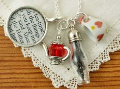 Lavender likes, loves, finds and dreams: CS Literary Jewelry is Etsy Seller of the Week! + Giveaway
