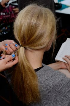 Spring/Summer 2014: Find Your Perfect Ponytail