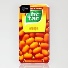 TIC TAC iPhone & iPod Case if people know me this is a good case for me : )
