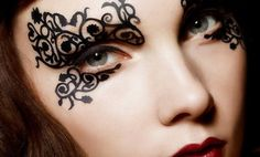 Groupon - $ 9.99 for Halloween Eye Decals ($30 List Price). Multiple Styles Available. in Online Deal. Groupon deal price: $9.99