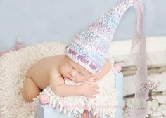 Newborn princess cap