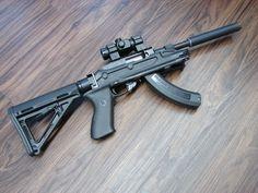 Ruger 10/22 Suppressed SBR