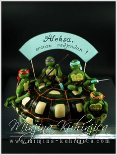 Teenage Mutant Ninja Turtle by www.minjina-kuhinjica.com