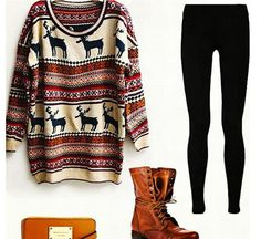 that jumper and shoes :)