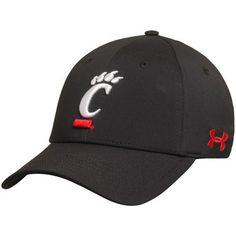 Cincinnati Bearcats Under Armour Sideline Renegade Solid Structured Flex Hat - Black