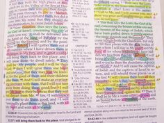 How to study your bible...