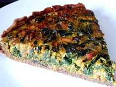 TARTE AUX GRAINES BLETTES ET OIGNON ROUGE Meal Prep, Prepping, Meals, Vegan, Breakfast, Quiches, Pizza, Vegetable Tart, Gram Flour