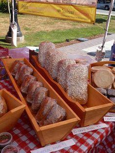 Arlington Farmers' Market- Fresh baked bread at the market hand crafted by Misty Mountain Farm in Arlington, WA Arlington Washington, Freshly Baked, Bread Baking, Farmers Market, Mountain, Marketing, Crafts, Baking, Manualidades