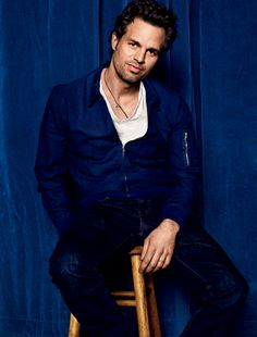 Mark Ruffalo...sweet, sensitive side and just look at that FACE!