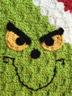 Grinch Inspired Crochet Scarf Free crochet is known very well, this is technique allows to make blankets, pillows, afghans and many others project. This scarf is easy to do. The full artic C2c Crochet, Basic Crochet Stitches, Crochet Basics, Crochet Gifts, Free Crochet, Hand Crochet, Crochet Christmas Hats, Christmas Scarf, Christmas Crochet Patterns