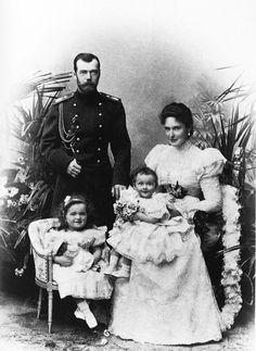 Nicholas, Alexandra, Olga and Tatiana