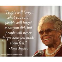 Remembering this amazing woman. #MayaAngelou