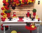 Kit Festa Miney locação Industrial Kids Decor, Board Decoration, Party Kit