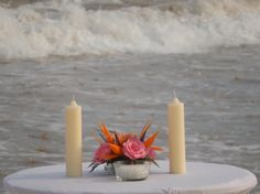 Sand ceremony, unity candles and family memorial ceremony make your Dreams Tulum wedding personal.