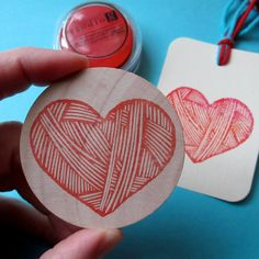 I+Love+Yarn++Hand+Carved+Rubber+Stamp+by+hoffeeandanuffin+on+Etsy,+$12.00