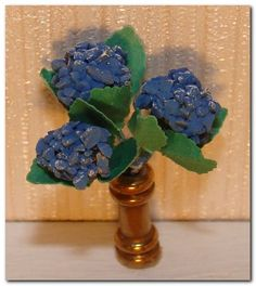 how to: 1/48th scale hydrangea arrangement