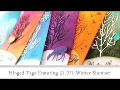 VIDEO: Colorful Tags | The Penny Black Blog