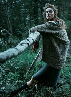 Frida Gustavsson in Scandinavia SSAW #8S/S 2014 by Boe Marion
