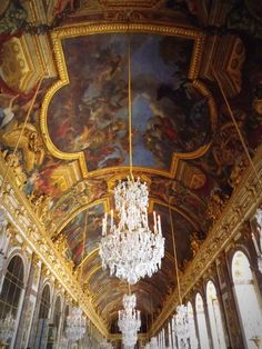 HALL OF MIRRORS   Palace de Versailles, Paris