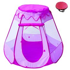 Generous Cute Children Kid Balls Pit Pool Game Play Tent Indoor Outdoor Gaming Toys Hut For Baby Toddlers High Quality Superior Materials Swimming Pool