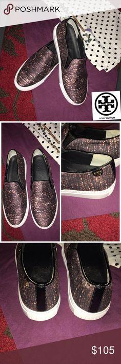 5b2f9a33695e 🌼Tory Burch Twinkle Print Sneakers Sz 8