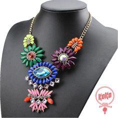 Collar de piedras de colores #springiscoming #newarrivals