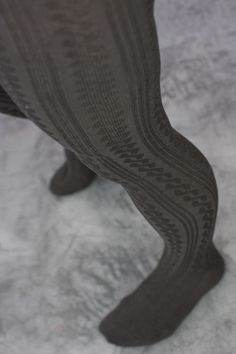 These tights have it all! The cable pattern is classic and stylish and the bamboo rayon is silky and strong. Their super comfortable covered waistband makes them feel as good as they look. Grey Tights, Striped Tights, Thermal Tights, Ballet Boys, Bamboo Rayon, Footless Tights, In Pantyhose, Nylons, Fashion Tights