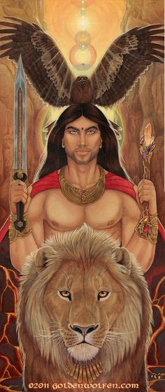 Masculine Divine by Goldenwolf on deviantART