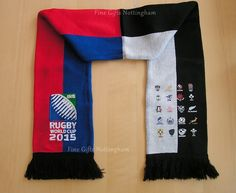 Rugby World Cup 2015 Scarfs - 20 Nations Harlequin Scarf - 2015 Rugby World Cup, World Cup Teams, Scarfs, Sweaters, Scarves, Sweater, Wedding Shawl, Sweatshirts