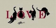 Awe-inspiring photo - pay a visit to our story for many more ideas! Cross Stitch Love, Cross Stitch Animals, Cross Stitch Charts, Cross Stitch Designs, Cross Stitch Patterns, Cat Cross Stitches, Cross Stitching, Cross Stitch Embroidery, Embroidery Patterns