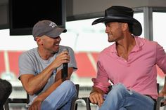 Tim McGraw & Kenny Chesney interview right before the kick off of their all stadium Brothers of the Sun tour back in 2012.