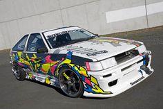 Corolla Trueno AE86 Drift