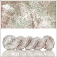 Expression Fiber Arts, Inc. - PARCHMENT ALPACA SILK DK YARN , $33.00 (http://www.expressionfiberarts.com/products/parchment-alpaca-silk-dk.html)