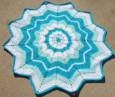SmoothFox Crochet and Knit: SmoothFox's Beginner's Round Ripple - Free Pattern