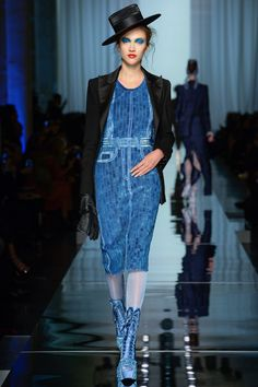 #JeanPaulGaultier   #fashion  #Koshchenets Jean Paul Gaultier Spring 2017 Couture Collection Photos - Vogue