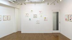 Yasuyoshi Tokida Exhibition at gallery Satoru, Japan. 2014.10 Collage Works by Yasuyoshi Tokida, 常田泰由