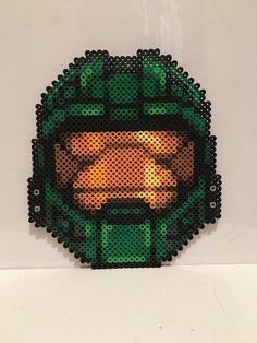 Halo - Master Chief Helmet Perler Beads by Rachel's Dreamland