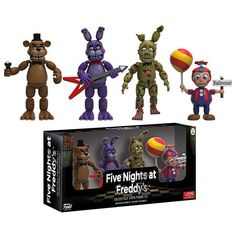Five Nights at Freddy's 4 Figure Pack (Set 2) by Funko
