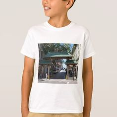#San Francisco Chinatown Gate Kid's T-shirt - #giftideas for #kids #babies #children #gifts #giftidea