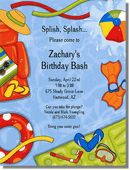 No matter what age or reason to celebrate, these pool party invitations are sure to bring on summer fun! Pool Party Favors, Pool Party Kids, Pool Party Invitations, Kid Pool, Baby Shower Invitations, Birthday Bash, Birthday Parties, 5th Grade Graduation, Splash Party