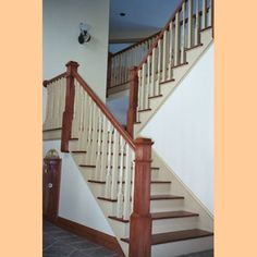 stairway from alward woodworking
