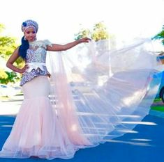 WOW traditional african fashion are really stunning Pic# 5544006152 Wedding Dresses South Africa, African Wedding Theme, African Wedding Attire, African Fashion Designers, Latest African Fashion Dresses, African Print Fashion, Zulu Traditional Wedding Dresses, South African Traditional Dresses, Zulu Wedding