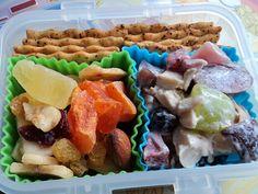 Fruity Chicken Salad Bento Lunch  Sophie Hawke on Flickr  http://www.flickr.com/photos/hawke-in-flight/6816444436