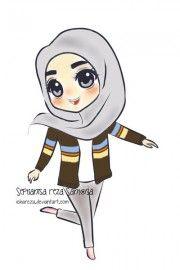 Chibi Drawings (Cute Muslim Characters) - Muslim Manga and Anime Drawings…